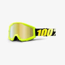 Маска 100% Strata Neon Yellow